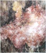 <p>尤莉亚&middot;斯坦纳,<em>untitled</em>,2013 - 2017,玻璃纸上油画,151.5 x 133 cm (带框)</p>