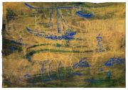 <p>Rebekka Steiger, <em>untitled</em>, 2019, oil, tempera and pastel on paper, 27 x 39.5 cm</p>