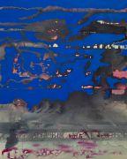 <p>Rebekka Steiger, <em>影子传说</em> , 2020, ink and oil on canvas, 100 x 80 cm</p>