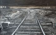 "<p>Meng Huang,<em isrender=""true"">&nbsp;Distance No. 21</em>,&nbsp;2013, oil on canvas, 180 x 280 cm</p>"