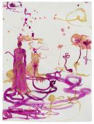 <p>高嫣,<em>untitled</em>,2018,纸上蜡笔水粉,78 x 57 cm</p>