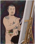 """<p isrender=""""true"""">Chen Fei, <em isrender=""""true"""">Study</em>, 2018, acrylic on linen,100 x 80 cm</p>"""