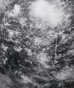 <p>Julia Steiner, <em>circular flight IV</em>, 2020, gouache on paper, 240 x 202 cm</p>