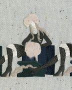 <p>托比亚斯&middot;卡斯帕,<em>Woman on her luggage</em> ,2019,艺术微喷,三明治装裱,白色木制底座,100 x 80 cm (照片尺寸),100 x 80 x 5 cm (木制底座),3 版 + 2 AP</p>