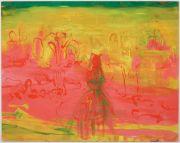 <p>Rebekka Steiger, <em>of dinosaurs and men</em>, 2018, oil and tempera on canvas, 190 x 240 cm</p>