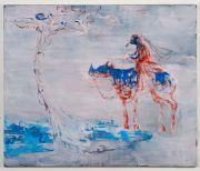 <p>Rebekka Steiger, <em>untitled</em>, 2017, oil on cotton, 200 x 240 cm</p>