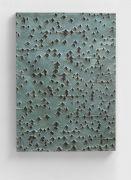 <p>Mirko Baselgia, <em>Landscape of growing I</em>,&nbsp;2017, 1AP, bronze (patina green), 77.5 x 56 x 4 cm, edition of 3 + 1 AP, photo: Stefan Altenburger</p>
