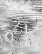 <p>Julia Steiner, <em>Witterung (Worte 3)</em>, 2019, gouache on paper, 75 x 60 cm</p>