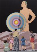 """<p isrender=""""true"""">Chen Fei, <em isrender=""""true"""">Great Art</em>, 2014, acrylic on linen, 240 x 180 cm</p>"""