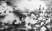 <p>Julia Steiner, <em>consistence of time</em>, 2011 (part 4), gouache on paper, 120 x 200 cm</p>