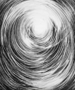 <p>Julia Steiner, <em>circulation II</em>, 2020, gouache on paper, 90 x 70 cm</p>
