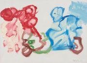 <p>Xie Nanxing, <em>What to Paint?</em>, 2017, 80 x 110 cm, left</p>