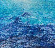 """<p>Meng Huang,&nbsp;<em isrender=""""true"""">BO12.08</em>,&nbsp;2018, oil on canvas, 155 x 180 cm</p>"""