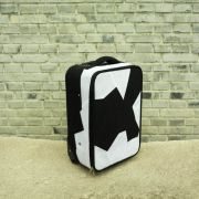 <p>Ai Weiwei, <em>Fairytale - Luggag</em>e, 2007, fabric, steel, plastic, 57 x 36 x 22 cm</p>