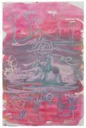 <p>Rebekka Steiger, <em>untitled</em>, 2018, gouache and pastel on paper, 57 x 38 cm</p>