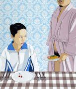 """<p isrender=""""true"""">Chen Fei, <em isrender=""""true"""">Step Father</em>, 2013, acrylic on linen, 205 x 175 cm</p>"""