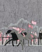 <p>Tobias Kaspar, <em>Jockey (grey, pink)</em>, 2019, 1/3, c-print, mounting on acrylic board, white wooden frame, 200 x 160 cm (photo); 207 x 163.5 x 5 cm (framed), edition of 2 + 1 AP</p>