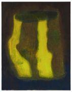 <p>周思维,<em>酒杯(金),</em>2016,布面油画,140 x 110 cm</p>