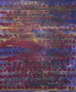 <p>Rebekka Steiger, rondeau, 2020, tempera, ink and pastell on canvas, 240 x 200 cm</p>