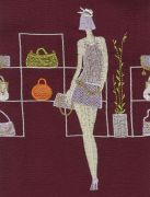 <p>Tobias Kaspar,<em> Bags (purple bordeaux)</em>, 2019, 1/3, c-print, mounting on acrylic board, white wooden frame, 210 x 160 cm (photo); 215 x 165 x 5 cm (framed), edition of 2 + 1 AP</p>
