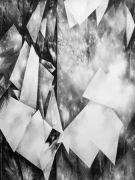 <p>Julia Steiner, <em>Space Fiction II</em>, 2013, gouache on paper, 146 x 110 cm</p>
