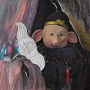 <p>Wang Xingwei,&nbsp;<em>Still Life (Zhu Bajie),</em> 2020, oil on canvas,&nbsp;70 x 70 cm</p>