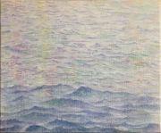 """<p>Meng Huang,&nbsp;<em isrender=""""true"""">BO - 6</em>,&nbsp;2018, oil on canvas, 45 x 55 cm</p>"""