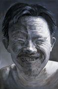 <p>孟煌,<em>国际脸二</em>,2007,布面油画,280x 180 cm</p>