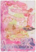 <p>高嫣,<em>untitled</em>,2018,纸上蜡笔水粉,57 x 39 cm</p>