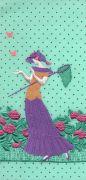 <p>托比亚斯&middot;卡斯帕,<em>Butterflies (mint green, purple)</em>,2019,艺术微喷,裱卡纸,白色木框,24 x 11 cm (照片尺寸),50 x 36.5 x 3 cm (外框尺寸),3 版 + 2 AP</p>