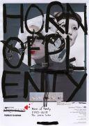 <p>托比亚斯&middot;卡斯帕,<em>Horn of Plenty (Raven)</em>,2019,纸上艺术微喷,丙烯,墨,杂志剪纸,硅,胶带,59 &times; 42 cm,63 &times; 46 cm (外框尺寸),独版</p>