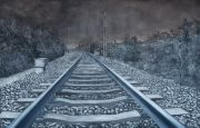 "<p>Meng Huang,<em isrender=""true"">&nbsp;Distance No. 26</em>,&nbsp;2013, oil on canvas, 180 x 280 cm</p>"