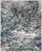 """<p isrender=""""true"""">尤莉亚&middot;斯坦纳,<em>untitled</em>,2013,玻璃纸上油画,53.5 x 44 cm (带框)</p>"""