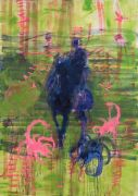 <p>Rebekka Steiger, <em>valentin (venus as a boy)</em>, 2018, oil and tempera on canvas, 240 x 170 cm</p>