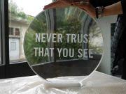 <p>Anatoly Shuravlev, <em>Lense (No. 3)</em>, 2010 / 2016, crystal glass, &Oslash; 50 cm, 6 cm</p>