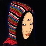 """<p isrender=""""true"""">Chen Fei, <em isrender=""""true"""">The Portrait</em>, 2010, acrylic on linen, 20 x 20 cm</p>"""
