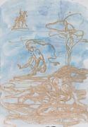 <p>Rebekka Steiger, <em>untitled</em>, 2018, gouache and pastel on paper, 39 x 27 cm</p>
