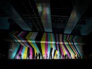 <p>Lang/Baumann, <em>Beautiful Bridge #2</em>, foil, 2016, 8.7 x 27 m, installation view, <em>Tokyo Art Flow</em>, Futakotamagawa Station area, Tokyo, Japan</p>