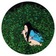 """<p isrender=""""true"""">Chen Fei, <em isrender=""""true"""">Playing among Flowers</em>, 2010, acrylic on linen, &empty; 40 cm</p>"""