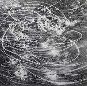 <p>Julia Steiner, <em>circular flight III</em>, 2020, gouache on paper, 138 x 140 cm</p>