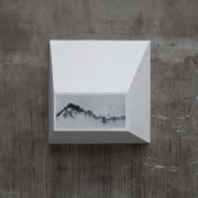 <p>Not Vital, <em>Mountains</em>,&nbsp;2011, marble, plaster, 72 x 70.5 x 23.5 cm</p>
