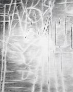 <p>Julia Steiner, <em>Witterung (Worte 6)</em>, 2019, gouache on paper, 75 x 60 cm</p>