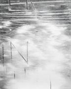 <p>Julia Steiner, <em>Witterung (Worte 2)</em>, 2019, gouache on paper, 75 x 60 cm</p>