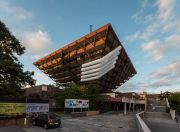 <p>Lang/Baumann,<em> Comfort #14</em>, 2016, polyester fabric, ventilator, 5 tubes of 30 m length, diameter 190 cm, installation view, <em>Biela noc</em>, Ko&scaron;ice/Bratislava, Slovakia</p>