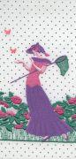 <p>Tobias Kaspar, <em>Butterflies (white, purple)</em>, 2019, 1/3, ultra giclee, passpartout mounting, white wooden frame, 24 x 11 cm (photo); 50 x 36.5 x 3 cm (framed), edition of 3 + 2 AP</p>
