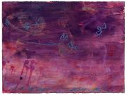 <p>Rebekka Steiger, <em>untitled</em>, 2019, oil, tempera and oil stick on paper, 56 x 75 cm</p>