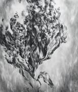 <p>尤莉亚&middot;斯坦纳,<em>untitled I</em>,2019,纸上水粉,160 x 140 cm</p>