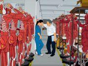 """<p isrender=""""true"""">Chen Fei, <em isrender=""""true"""">The Spring of the Factory</em>, 2012, acrylic on linen, 180 x 240 cm</p>"""