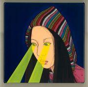 """<p isrender=""""true"""">Chen Fei, <em isrender=""""true"""">An Exercise</em>, 2011, acrylic on linen, 35 x 35 cm</p>"""
