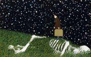 """<p isrender=""""true"""">Chen Fei, <em isrender=""""true"""">Dark Stars</em>, 2013, acrylic on linen, 2x 190 x 240 cm</p>"""